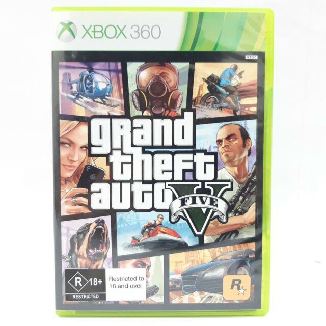 GTA Grand Theft Auto V 5 (Microsoft Xbox 360, 2013) (Brand New & Unopened)