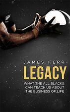 Legacy New Paperback Book James Kerr