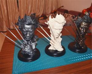 Anime-X-MAN-Wolverine-Logan-Bust-Model-Hugh-Michael-Jackman-Resin-Statuary