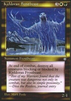 4x Kjeldoran Frostbeast //// NM //// Ice Age //// engl //// Magic the Gathering