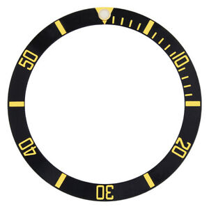 BEZEL-INSERT-FOR-INVICTA-8929OB-PRO-DIVER-WATCH-BLACK-GOLD-FONTS-TOP-QUALITY