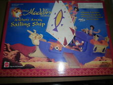 Vintage Mattel Disney Aladdin  Playset ANCHORS AWAY SAILING SHIP New