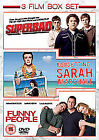 Funny People / Superbad / Forgetting Sarah Marshall (DVD, 2010, 3-Disc Set)
