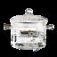 縮圖 2 - Open fire direct fired glass soup pot steamer boiling pot special pot for electr