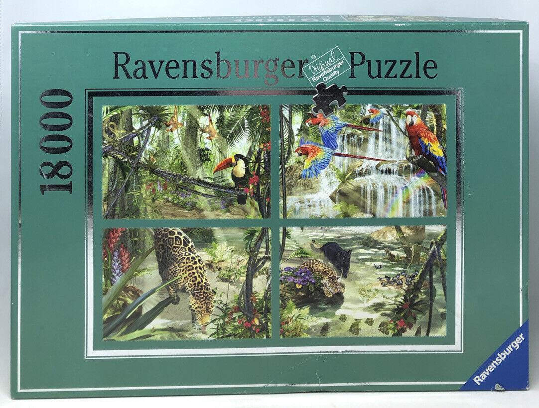 Ravensburger Puzzle 18000 Pc 178346 Tropical Impressions For Sale Online Ebay