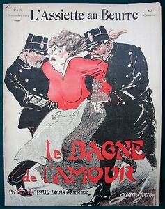L-039-Assiette-au-Beurre-188-Prostitution-034-Le-Bagne-034-1904-French-Satire-Art
