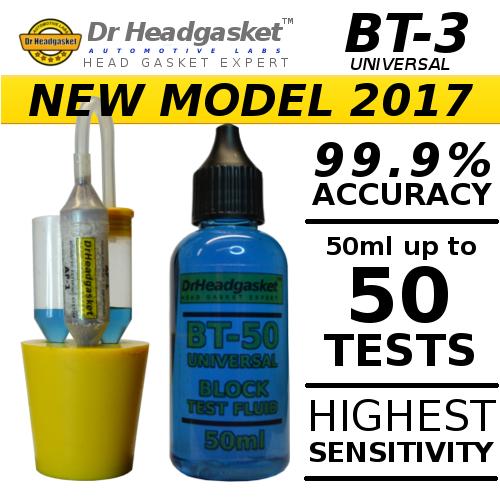 BT-3 50ml BLOCK COMBUSTION LEAK TESTER KIT CO2 BLOCK HEAD GASKET TEST FLUID ac