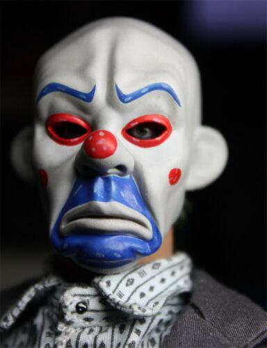 Action Figure No Body Custom 1//6 Clown Robber Mask Joker Sculpt Fit 12in