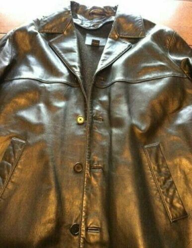 Coach Men's Black Leather Jacket / Blazer With Rem