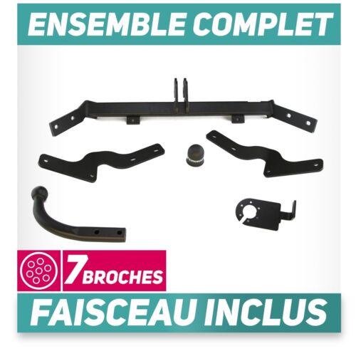 faisceau 7 broches Attelage rigide Peugeot Partner I de 03