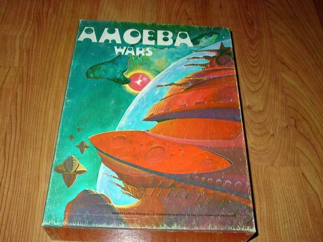 Avalon Hill 1981 - Amoeba  guerras - gioco of Galactic Conquest (Partituttiy Punched)  centro commerciale di moda