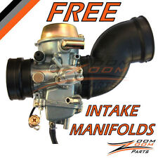 2000 2001 Yamaha Grizzly YFM 600 Carburetor + 2 FREE Intake Manifold Boot Carb