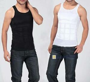 Men-Slimming-Body-Slim-N-Lift-Shaper-Belly-Buster-Underwear-Vest-Compression-OP