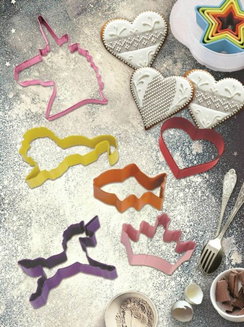 Assorted Design/Themes  COOKIE CUTTERS -  - Baking, Cake, Biscuit,Sandwich Party