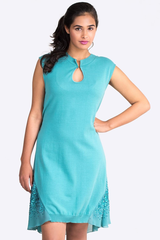 NEW  ITALIAN DESIGNER SISTES Loose Fit Sequin Dress Größes S M L 8 10 12 14