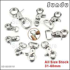 fe3b74b9a8 Image is loading Wholesale-Key-Ring-Clip-Swivel-Lobster-Swivel-Clasps-