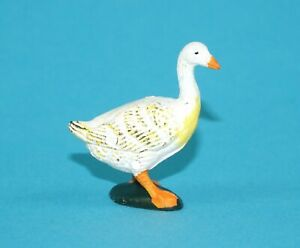 ELASTOLIN-FARM-SERIES-GOOSE-1-32-SCALE-54MM-1970s-ZZ-RIESEN-REISSUE-GERMANY
