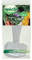 (36) Ea Luster Leaf 820 10 Packs 8 t Label White Plastic Plant Markers