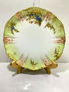 Antique-HAVILAND-LIMOGES-CFH-GDM-FRANCE-Cabinet-Plate