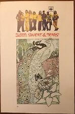 """Blood Sweat And Tears & Osibisa - Osibirock 2 Sided 70's Poster 15x10"""" p67"""