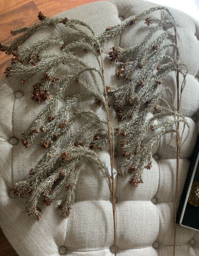 Katherine/'s Collection Christmas 2 Pcs Hanging Weeping Pine Stems 08-784547
