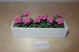 Houses, Miniatures Miniature Dollhouse 1:12 Scale Garden Planter Box Flower Pot