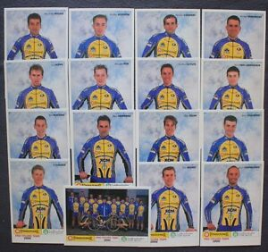 CYCLISME-JEU-DE-PHOTO-EQUIPE-Tonisssteiner-TOUR-DE-FRANCE-2000