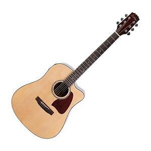 New-Martinez-Acoustic-Electric-Dreadnought-Cutaway-Guitar-Natural-Gloss