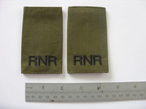 ROYAL NAVY RESERVE OG RANK SLIDES FOR MTP KIT RN HMS COMBAT ABLE RATE