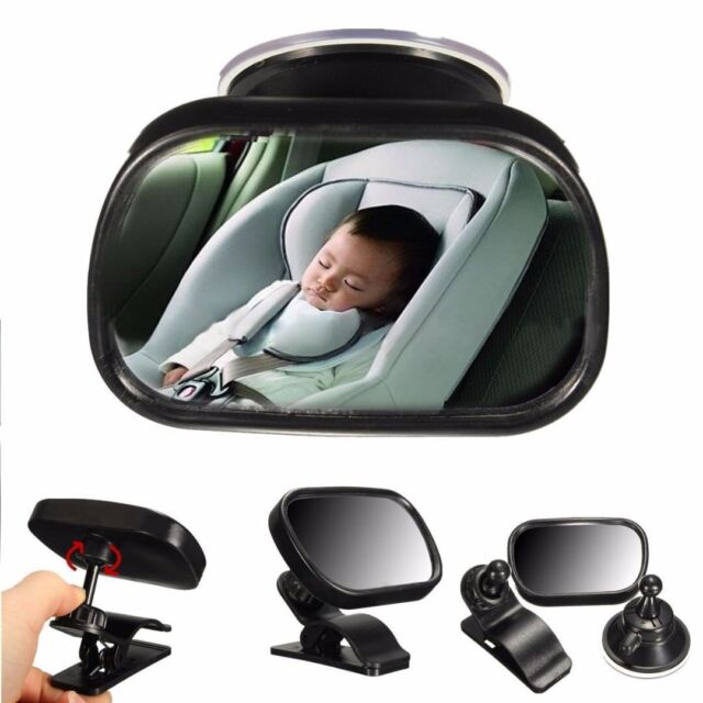 Universal Cartoon Car Rear View Mirror Baby Chair Safety Backseat Rear Viewing O