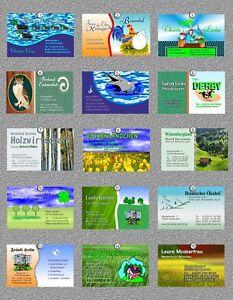 Details Zu 50 Visitenkarten Design Auswahl 1 15 Der Bildanzeige Auch Eigene Druckvorlage