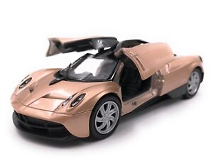 Modellino-Auto-Paganai-Huayra-Hypercar-Oro-Auto-Scala-1-3-4-39-Licenza