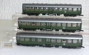 3-Roco-Umbauwagen-4250S-4254S-2-Klasse-Byg-und-BDyg-H0-Personenwagen
