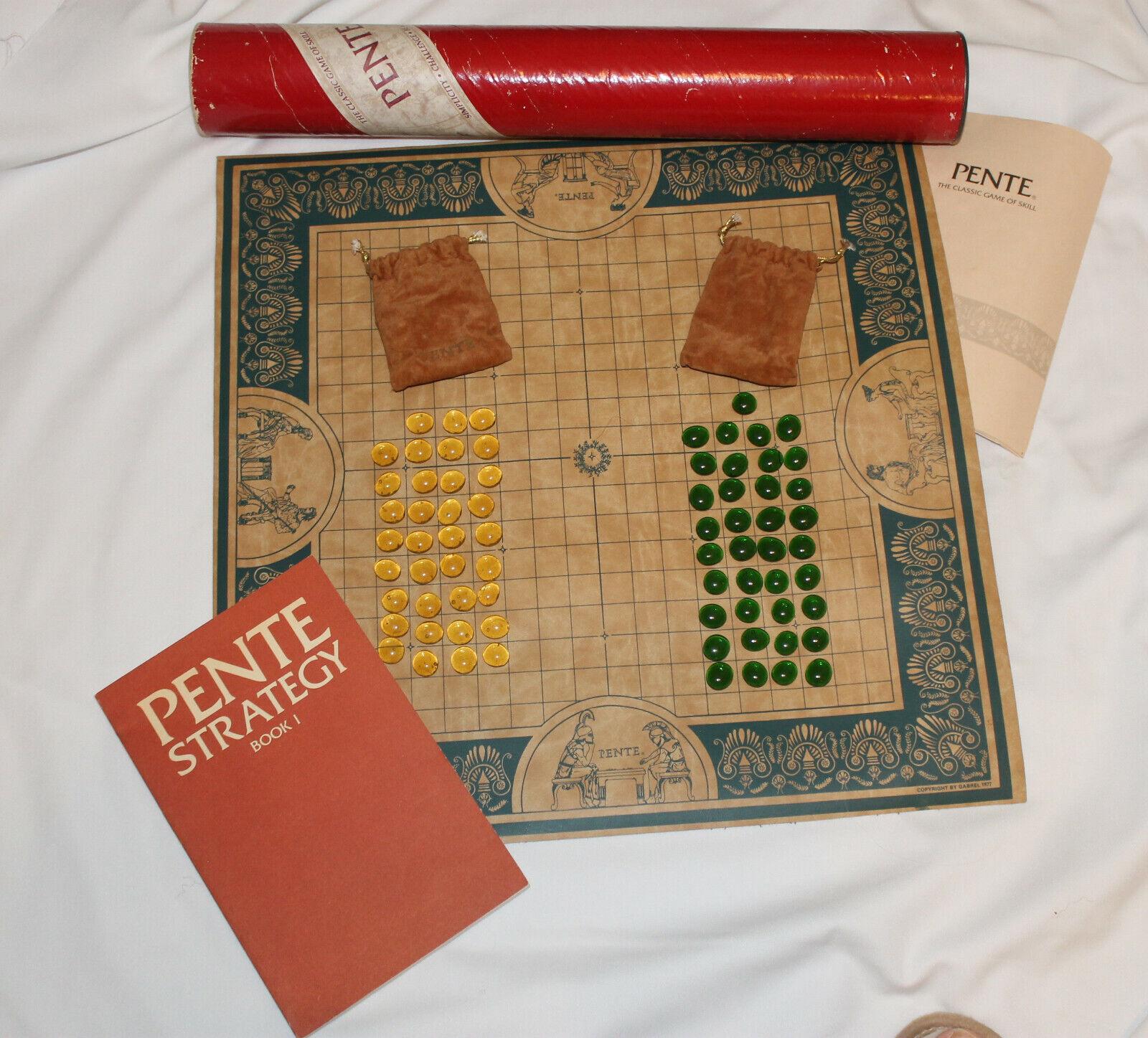 VINTAGE GABREL 1977 PENTE gioco  rosso Tube &  1980 Marroneeelich Strategy libro  negozio online