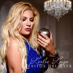 LESLIE-LUGO-034-Exitos-Del-Ayer-034-CD-2017-Official-Merchandise-BRAND-NEW-SEALED