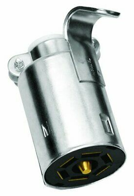Tow Ready 118037 Metal Trailer End 6-Way Flat Pin Connector