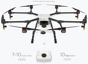 Details about New DJI AGRAS MG-1 Agricultural pesticide fertilizer Spraying  drone 10KG Mist