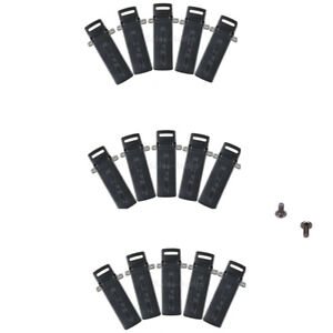 15X Waist Belt Back Clip For BaoFeng UV-5R 8W 5RA 5RE DM-5R BF-F8+ Walkie Talkie