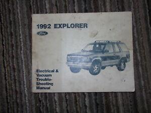 Repair Manuals Literature 1995 Ford Explorer Electrical Wiring Diagrams Service Shop Repair Manual Evtm Smaitarafah Sch Id