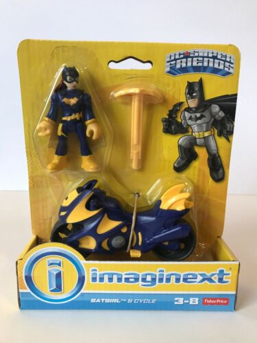 Imaginext Batgirl /& Cycle DC Super Friends New In Box