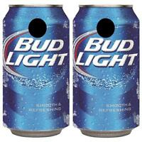 Bud Light Can Cornhole Board Skin Wrap Decal Set Free Lamination