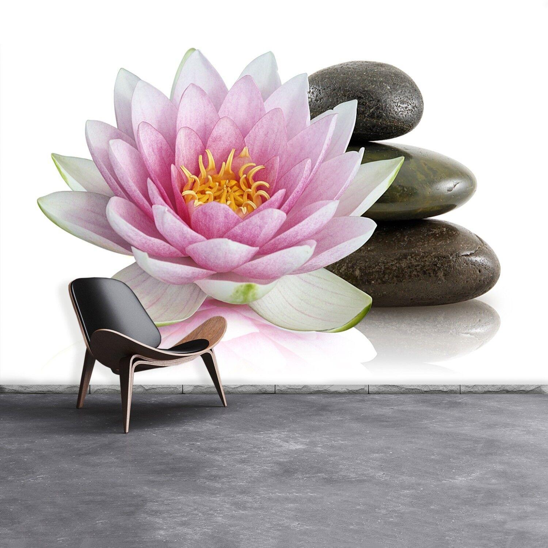Fototapete Selbstklebend Einfach ablösbar Mehrfach klebbar Lotus Blaume