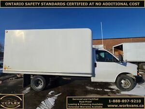 2012 Chevrolet Express G3500 14Ft Unicell Box + Tow Package - V8 Gasoline