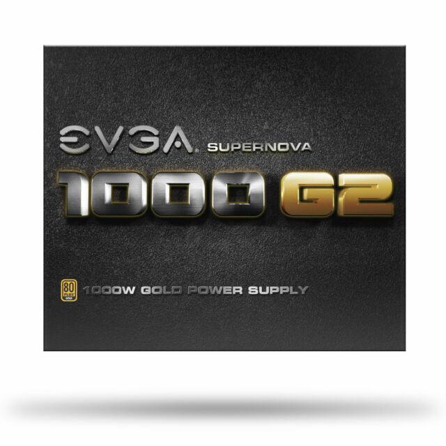 80+ GOLD 1000W EVGA SuperNOVA 1000 G2 120-G2-1000-XR Fully Modular