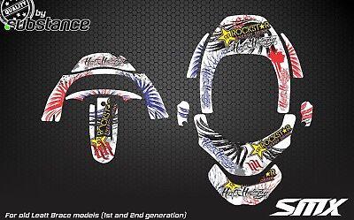 SMX motocross graphics for Leatt Brace GPX neck brace MX RMZ RM Leatt Club MX
