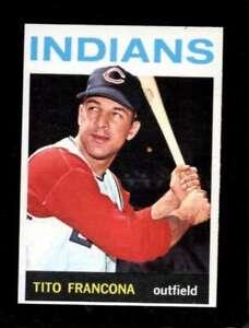 1964-TOPPS-583-TITO-FRANCONA-NMMT-INDIANS-SBA4673