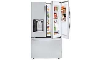 LG LFXS27466S 27 cu. ft. Stainless Steel Refrigerator Door-in-Door