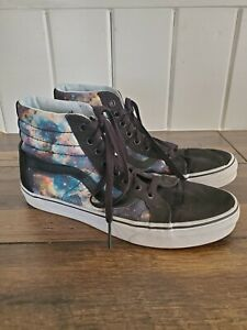 Vans High Top Galaxy Shoes Mens Size 9
