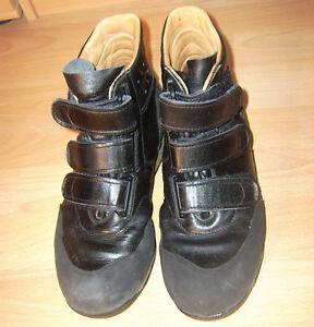 Profi-Skater-Stiefel-schwarz-Sneaker-amp-Turnschuhe-Groesse-41