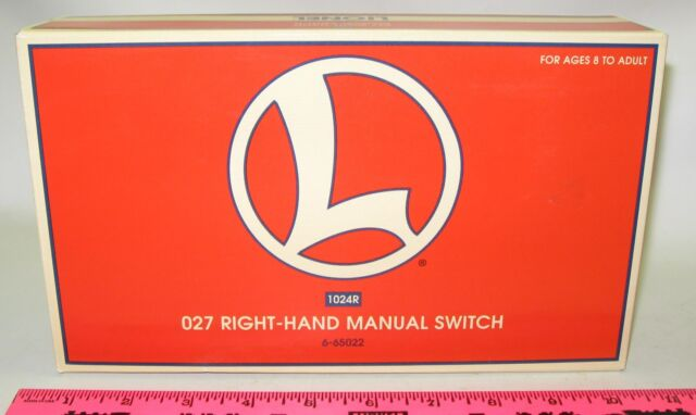 Lionel new 6-65022 027 Right-hand Manual switch